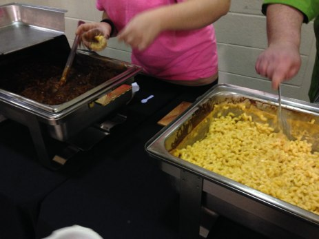 The Penn Werner Hotel mixing up some smoked chili mac and cheese