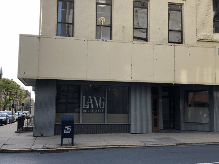 Lang Restaurant in Reading, PA