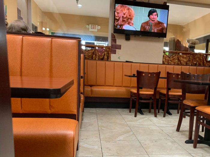 Russo Market Dining Area