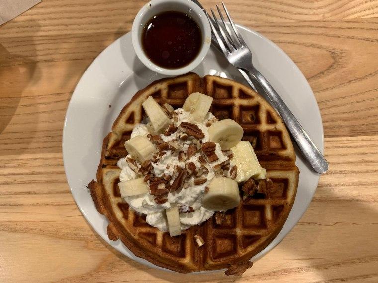 Four Twelve's Southern Comfort Pecan Waffle