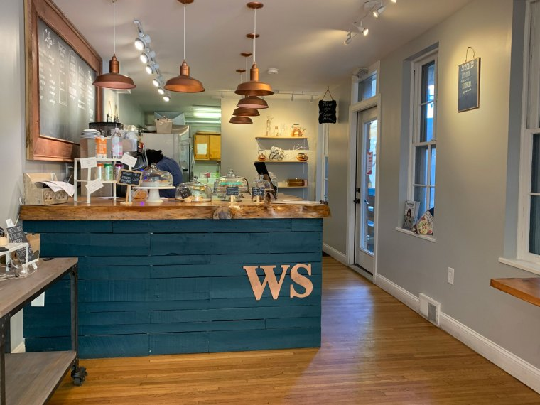 Inside Wild Sage Coffee and Kitchen
