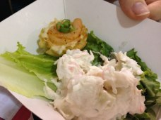 Adelphia's Seafood brought crab salad to the People's Choice.