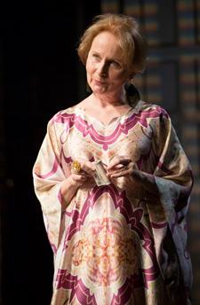 Kate Burton as Celia Newton, or so she says...Photos by T. Charles Erickson.