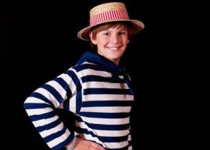 Emmet Chilton-Sugarman as Tommy tucker, the Midshipmite.