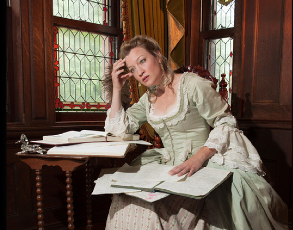 Kim Stauffer as Emillie in the WAM production at the St. Germain Theatre in Pittsfield through Nov. 24.