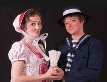Libby Maxey as Josephine and Steven Willliams as Ralph Rickstraw.