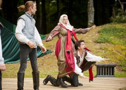 Romeo and Juliet at The Mount. Kevin Sprague photo.