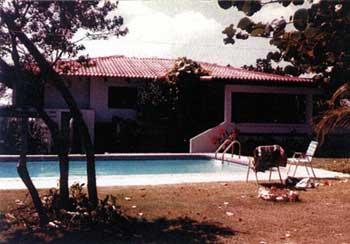 George Rose's house in Sosúa.