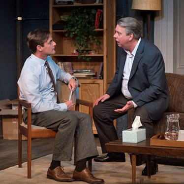 L to R: Mark H. Dold as Ian and Wilbur Edwin Henry as John.