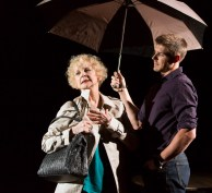 (l to r) Penny Fuller (Mother) and Chris Lowell (He). Photo by T. Charles Erickson