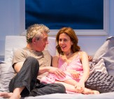 (L to R): Eric Bogosian (Neil) and Jessica Hecht (Suzanne). Photograph T .Charles Erickson.