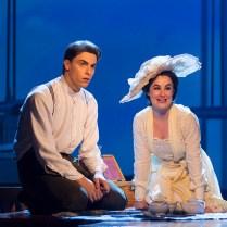Derek Klena (Francis Grand) and Lauren Worsham (Lucy Lemay). Photograph T. Charles Erickson.