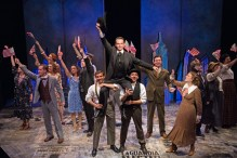 """A victorious """"Fiorello!"""" with Austin Lombardi as the memorable Mayor. Photo by Emma Rothenberg-Ware."""