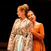 Tamara Hickey and Bella Merlin.