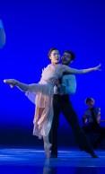 "Andrea Yorita and Edgar Anido of BalletX in ""Sunset, o639 Hours""; photo Christopher Duggan"