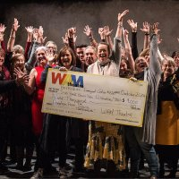 "WAM Theatre's ""Bakelite Masterpiece"" enables its largest charitable donation to date"