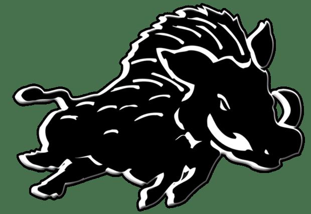 zeigt das Logo der Erkner Razorbacks