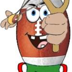 zeigt das Logo der Bullets Slingshots Bambini Flag