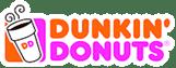 zeigt das Logo von Dunkin Donuts