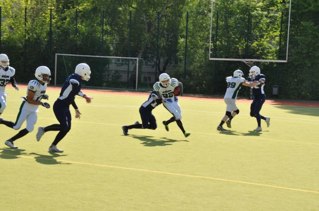 Berlin Bullets Senior Tackle American Football Probetraining