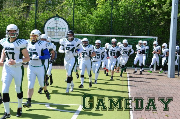 Gameday Einlauf Senior Tackle 2017