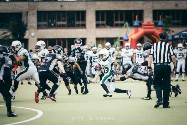 Bullets vs Razorbacks 03.09.2017 #13 Männer ©Blickfang