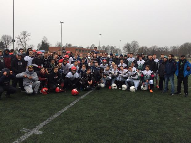 U19 Razorbowl 31.03.2018 alle Teams