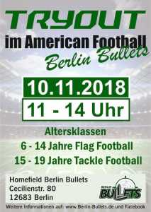 Plakat bullets try-out 10.11.2018 web