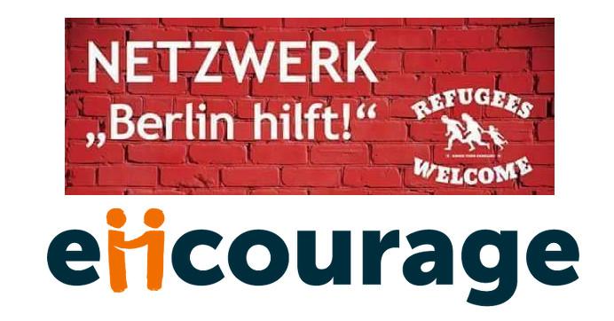 Logo encourage Netzwerk Berlin hilft