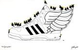 Sneaker Raven Wings