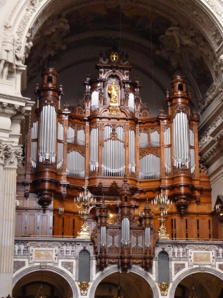 Sauer Orgel i Berliner Dom. Foto: Per Gadegaard