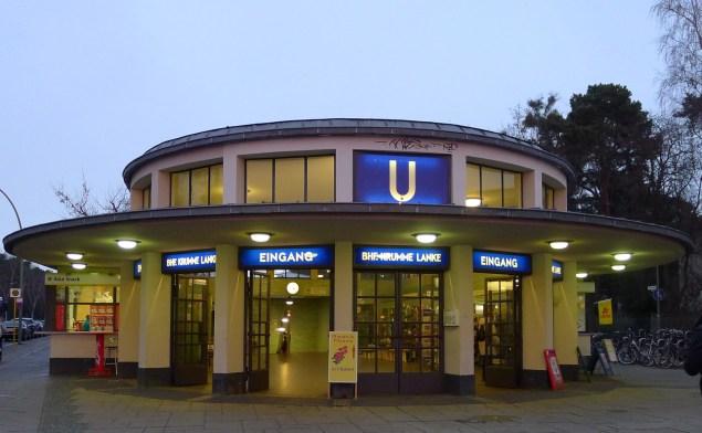 U-Bahn-stationen Krumme Lanke. Foto: Rikke Lyngsø Christensen
