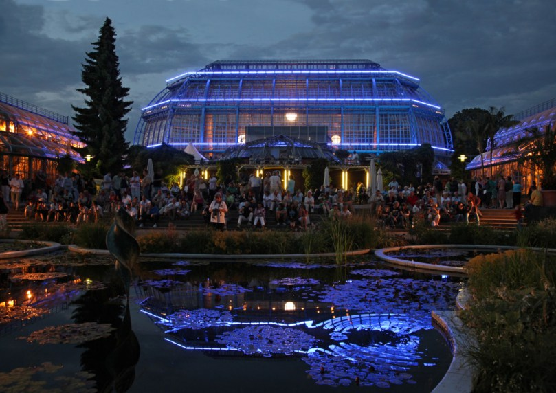 Botanische Nacht. Foto: Eberhard Kloeppel
