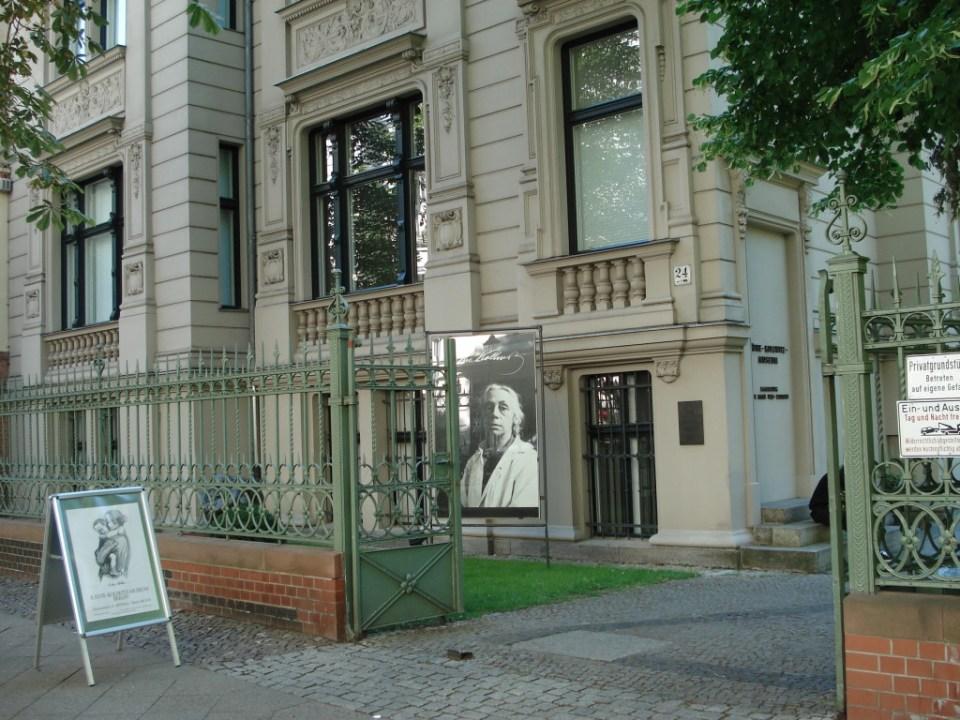Käthe Kollwitz Museum i Fasanenstrasse. Foto: Kirsten Andersen