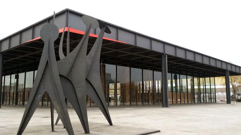 Neue Nationalgalerie. November 2014. Foto: Kirsten Andersen