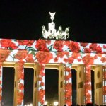 Brandenburger Tor. Festival of Lights Berlin 2014. Foto: Kirsten Andersen