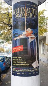 Weihnachtsoratorium i Berliner Dom 2014. Foto: Kirsten Andersen