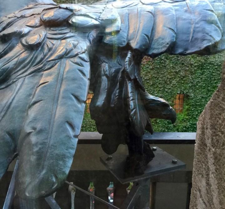 Ørnen i Märkisches Museum. Foto: Kirsten Andersen