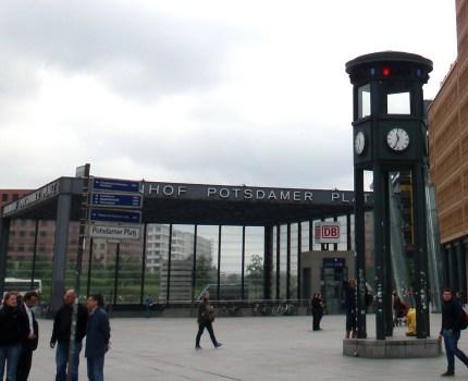 Tidsrejse på Potsdamer Platz