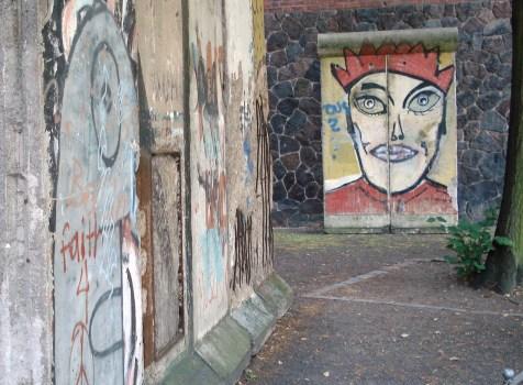 Berlinmuren foran Märkisches Museum