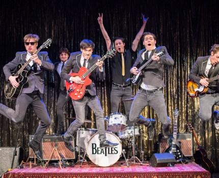 Beatles-forestilling på Theater am Kuhdamm