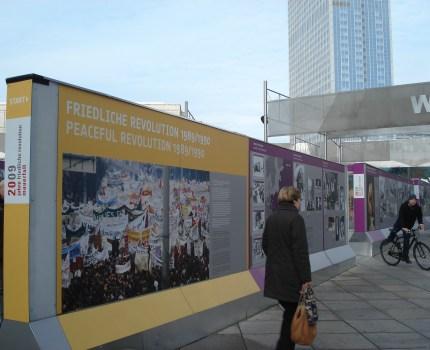 Open-air udstilling ved Stasimuseum