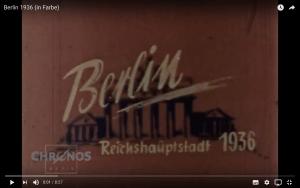 Berlin 1936 Chronos Medie