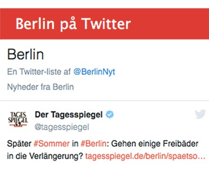 Husk Twitterlisten på Berlin-nyt
