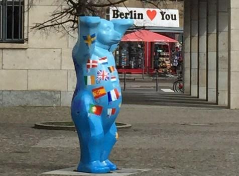 Bjørnebesøg på Keramik-Museum