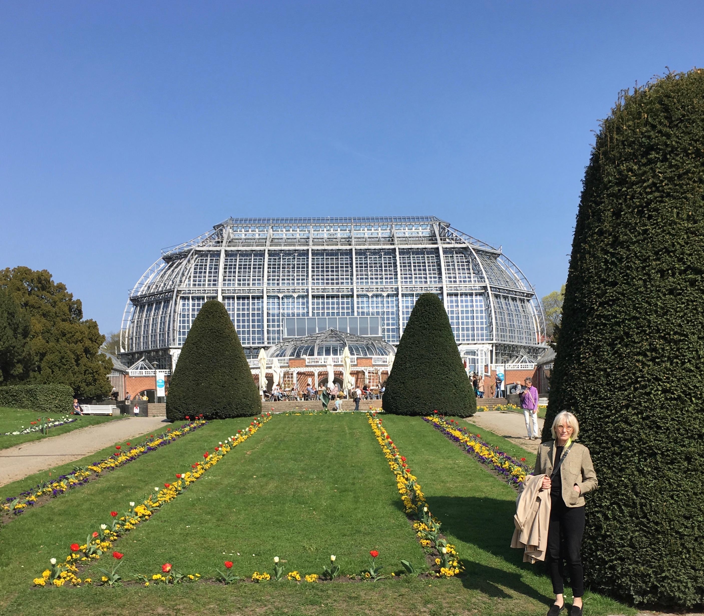 Botanischer Garten Berlin, april 2017. Foto: Jens Ole Christensen