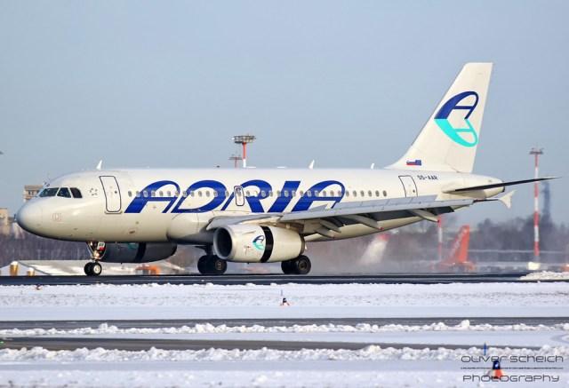 Adria Airways, Airbus A319-100 S5-AAR