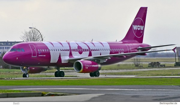 WOW Air Airbus A320-200 TF-BRO (© Basti)