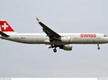 Swiss Airbus A321-200(SL) HB-IOO (© C. Nocka)