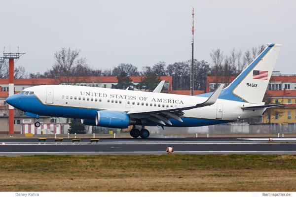 United States Boeing C-40B (737-700 BBJ) 54613 (© D. Kahra)